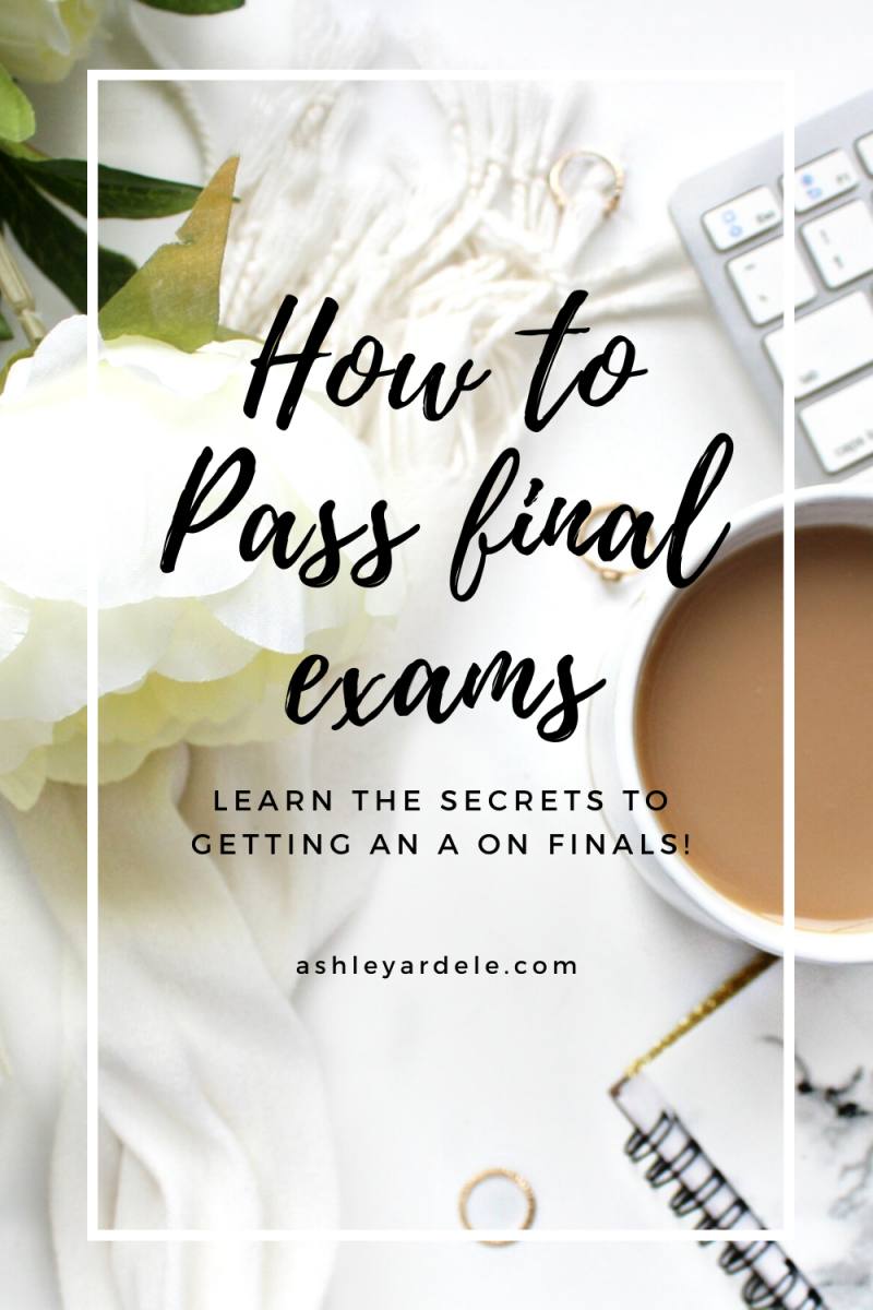 How to Pass Final Exams in College